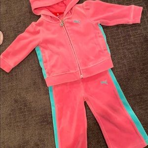 12 month puma sweats outfit